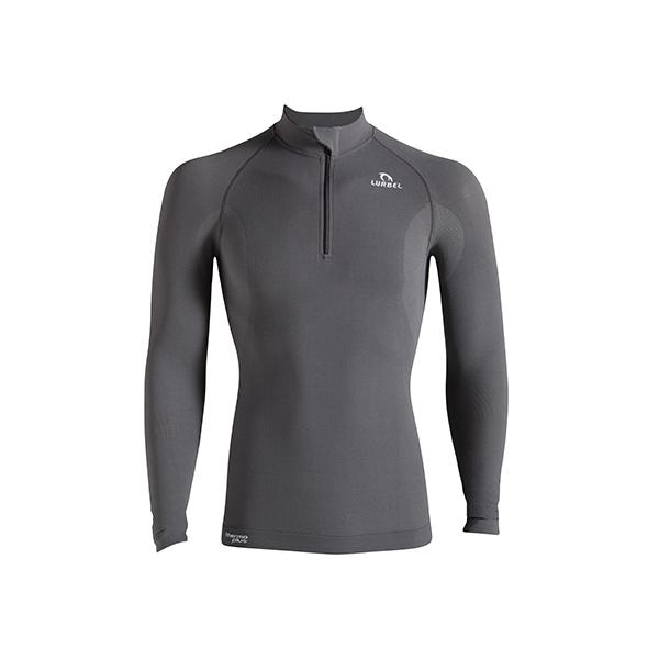 Camiseta unisex Lurbel Alaska long sleeves Zip