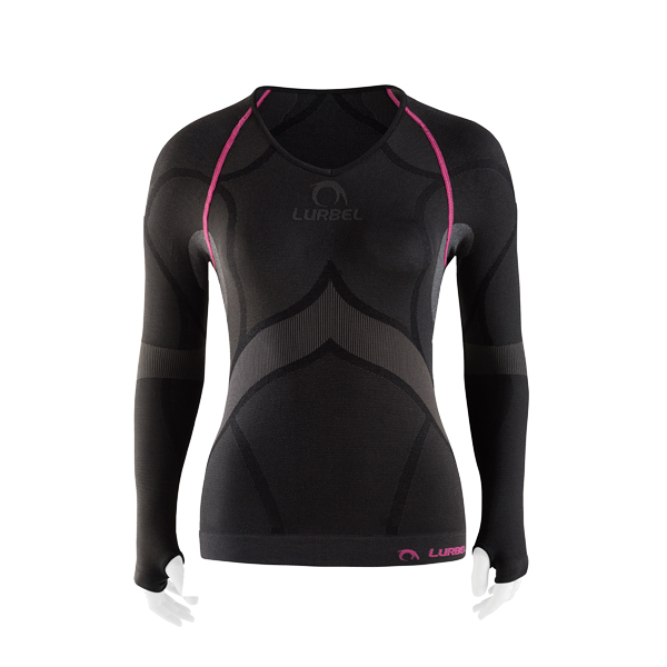 camiseta running lurbel nieve woman
