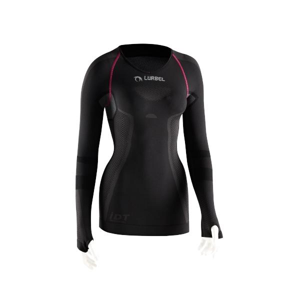 camiseta termo reguladora lurbel cristallo long sleeves w