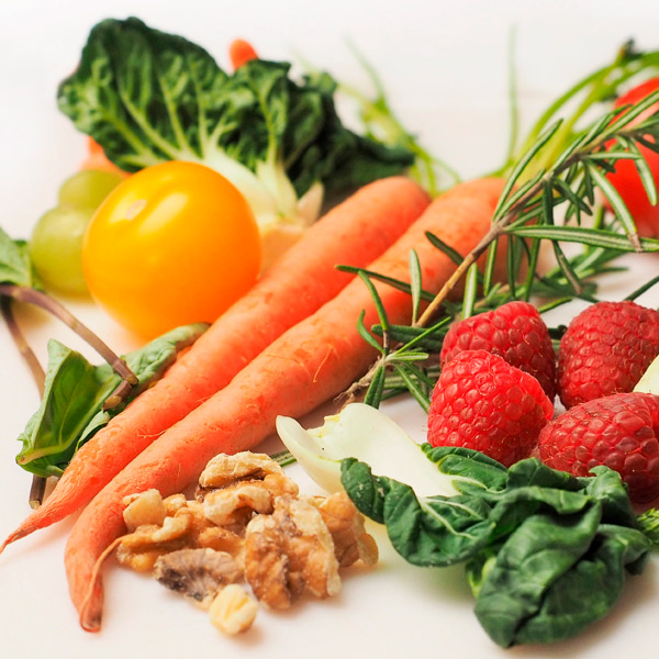 comida saludable...