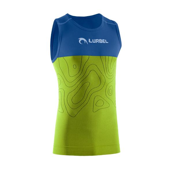 Camiseta hombre running Lurbel SAMBA singlet.