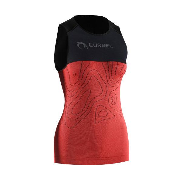Camiseta para correr Lurbel SAMBA singlet W.