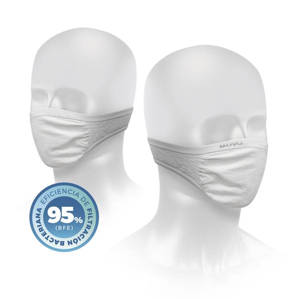 Máscaras de protección Muvu Ítaca- Pack de 2 máscaras.